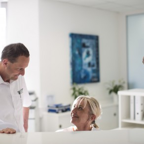 Empfangsbereich - Zentrum für Hand- und Fußchirurgie Hannover-Döhren
